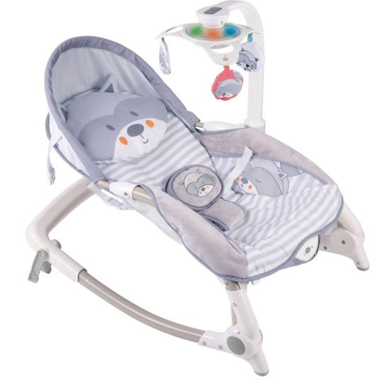 Balansoar bebe Scaun cu muzica lumini si accesorii