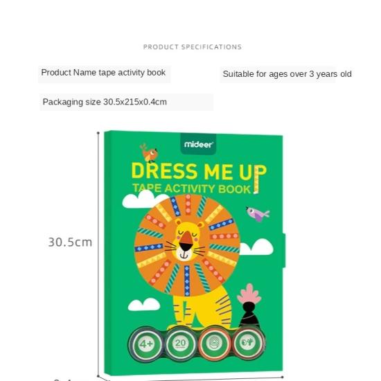 Cartea cu activitati Artistice Joc creativ cu 4 benzi colorate