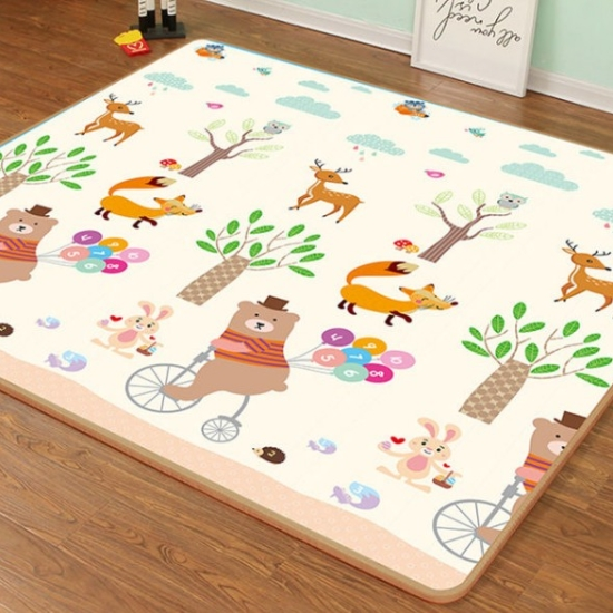 Covor bebe joaca Girafa spuma XPE impermeabil 150x180cm
