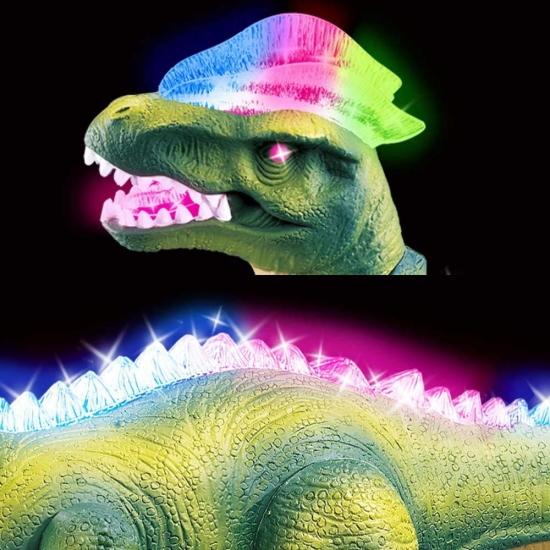 Figurina Dinozaur cu telecomanda lumini miscari si sunete