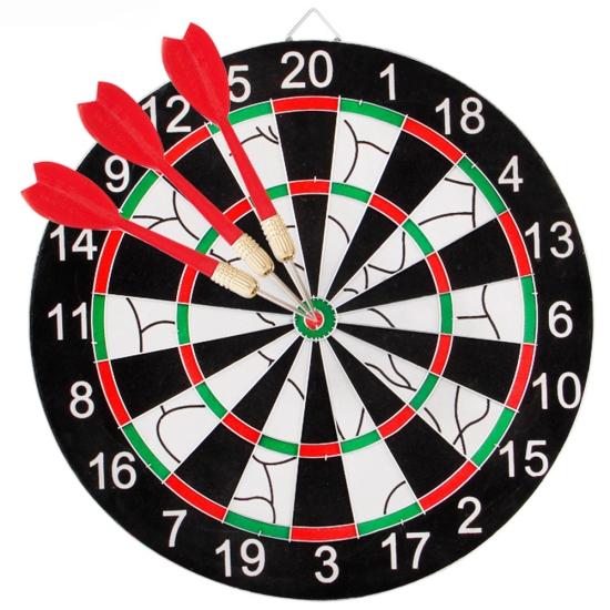 Joc Darts pentru copii Panou cu Sageti diametru 43 cm