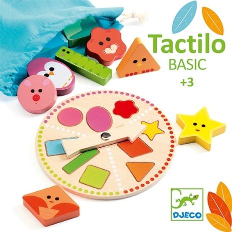 Joc educativ Ruleta cu forme geometrice Tactilobasic Djeco