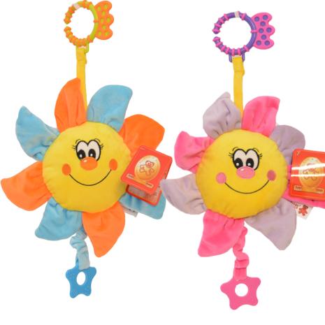 Jucarie bebe plus Floarea zambitoare colorat muzicala