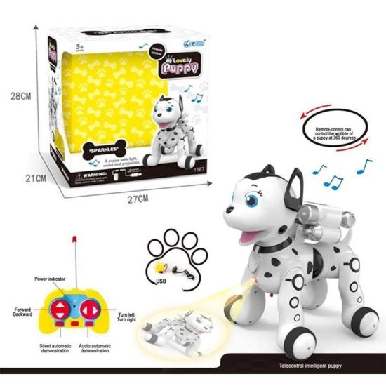 Jucarie interactiva Catelul Robot Puppy cu telecomanda