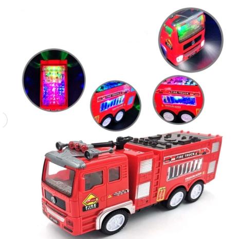 Jucarie interactiva Masina de pompieri cu lumini si sunete