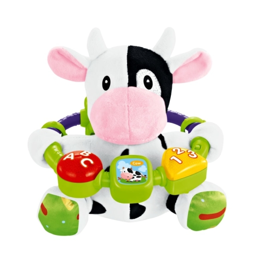 Jucarie interactiva bebe de plus Vacuta moale Baby Sunki