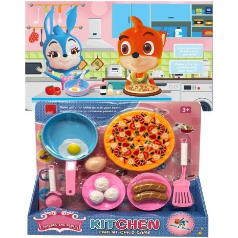 Set 18 Accesorii Bucatarie Mic dejun cu Pizza